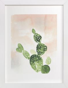 Cactus at Sunset by Nikkol Christiansen for Minted