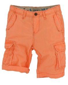 Scotch and Soda Shrunk jongens - Short Neon oranje