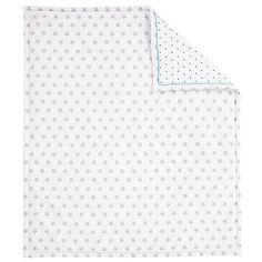 Buy John Lewis Baby Star Print Quilt, Grey Online at johnlewis.com