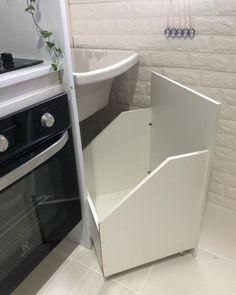 Home Design Decor, Scandinavian Home, Home Organization, Laundry Room Design, Kitchen Decor Apartment, House Design, Home N Decor, Closet Under Stairs, Living Decor