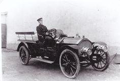 Martini 1910 - la première voiture de police à Turku, Finlande.
