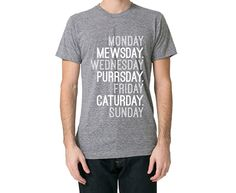Cat Week T-shirt
