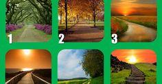 Imagina por un momento que debes de avanzar por uno de estos seis caminos. El camino que elijas tiene un significado en tu vida. Mir...