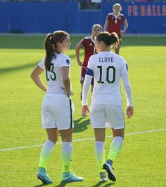 Alex Morgan # Carli Lloyd