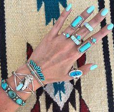 turquoise boho jewels