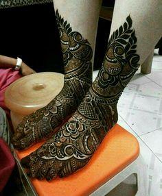 Foot design for bridal