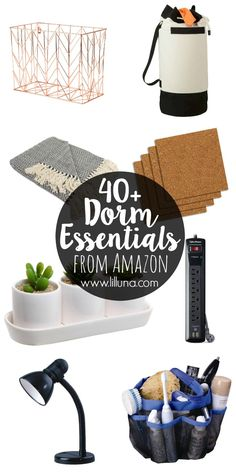 40+ Dorm Essentials