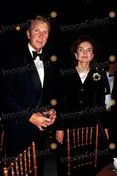 Jacqueline Kennedy Onassis and Ashton Kawkins at Grand Central Terminal Gala K1374rh Photo by Rose Hartman/Globe Photos Inc 1993 Jacquelinekennedyonassisretro