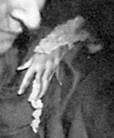 Materialized Hand Eva C at the Society for Psychical Research London 1920