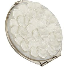 John Lewis Flower Compact Mirror, Silver (€12) ❤ liked on Polyvore featuring beauty products, beauty accessories, fillers, beauty, compacts, makeup, accessories and john lewis
