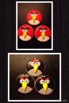 Bolachas Angry birds