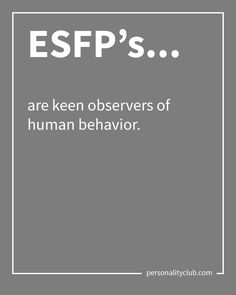 Okay, Debbie seems to be more extroverted so she's going to be ESFP