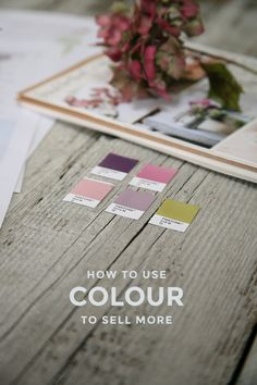 How to use colour to sell more – The Brand Stylist