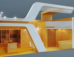 "Popatrz na ten projekt w @Behance: ""*SWISSPAN*exhibition stand*""…"