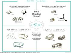 April Trunk show hosts get a REAL treat for our grand opening month in April!!  Take a look!!