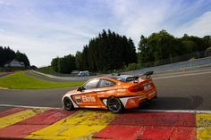 The first laps with the Ekris Motorsport M4 GT4 (sponsored by LEMARQ) at the circuit of Spa-Francorchamps.
