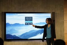 Microsoft introduces the Surface Hub for business meetings - CNET