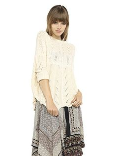www.myhabit.com  Easy fit pullover with pointelle detail, dolman sleeves and ribbed trim