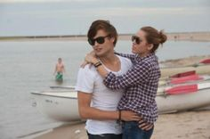 miley cyrus and douglas booth in the movie lol