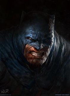 beat up Batman