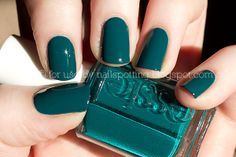 My new fall color: Essie's Go Overboard. Wearing it right now actually!