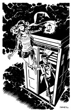 DOCTOR WHO and AMY POND by ChrisSamnee on deviantART...Doctor Who .. :)... http://www.pinterest.com/cwsf2010/doctor-who