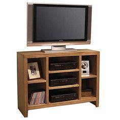 Aspen Home Essentials Lifestyle 49 Inch Open Console in Medium