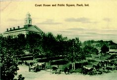 The Paoli Courthouse. I lived in Paoli in 1983-85 LLWMassage.com. And worked at the Spa in French Lick IN