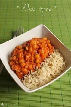 Aloo Chana - Pois chiches et pommes de terre au curry