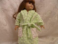 Mint Green Soft & Cuddly Robe for American Girl von Just4Dolls