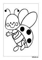 Katicás kifestők és színezők. Katicás nyomtatható kifestők. Calendar June, Charlie Brown, Minnie Mouse, Disney Characters, Fictional Characters, Snoopy, Clip Art, Seasons, Spring