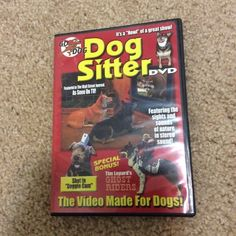 Free: Dog Sitter DVD  Featured in the Wall St Journal! As Seen On TV! - DVD - Listia.com Auctions for Free Stuff