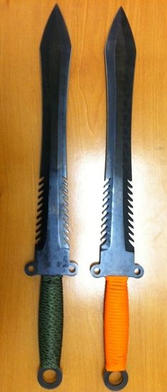 Sometimes a man needs a tactical gladiator survival knife.....