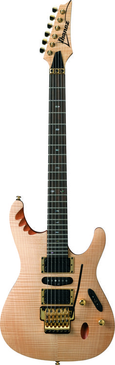 Ibanez EGEN8:When DragonForce guitarist Herman Li wanted a guitar that could handle his otherworldly technique and musicality, both he and Ibanez knew it would take time to get everything just right. It took three years but we did get it more than right...these models are perfect for ultimate shredding.