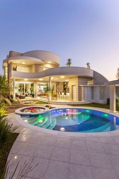 """Luxury Homes Interior Dream Houses Exterior Most Expensive Mansions Plans Modern 👉 Get Your FREE Guide """"The Best Ways To Make Money Online"""" Dream House Exterior, Dream House Plans, Dream Home Design, Modern House Design, Modern Architecture House, Modern Mansion, Modern Homes, Luxury Homes Dream Houses, Villa Design"""