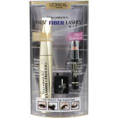 I tried this Loreal Paris Voluminous False Fiber Mascara Lash Kit when it was on sale. I had been looking for a good fiber lash that wasn't too expensive and I have to say that I really like this one. It goes on easily and clump free and you don't have. Fiber Lash Mascara, Mascara Tips, Fiber Lashes, False Lash Effect, Faux Lashes, Eyeshadow For Brown Eyes, How To Look Rich, L'oréal Paris, It Goes On