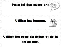 Printable reading strategies from the Daily Five and CAFÉ on Madame Bernice's… Daily 5 Reading, Daily 5 Math, Teaching Reading, Daily 3, French Teaching Resources, Teaching French, Education And Literacy, Literacy Activities, Daily Five Cafe