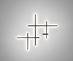 Buy online Sparks 1700 By vibia, polycarbonate wall lamp design Arik Levy, sparks Collection