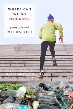 All you need to know about PLOGGING and where you can go to join a local club - become a plogger!  A zero-waste champion - someone who cares about the environment