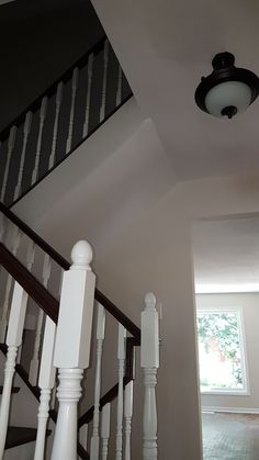 Big City Construction, Small Town Quality by the Straw Hat Twins Basement Staircase, Stairs, Small Towns, The Help, Restoration, Construction, Home Decor, Building, Stairway