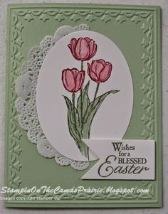 Stampin' on the Prairie: Happy Easter, Blessed Easter stamp set, Stampin' Up!