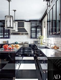 Decorating Your Kitchen with Black | Architectural Digest
