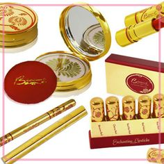 Besame Cosmetics - Vintage Retro Inspired Makeup, Lipsticks, Rouge, Powder Compacts from the 1930's, 1940's & 1950's###