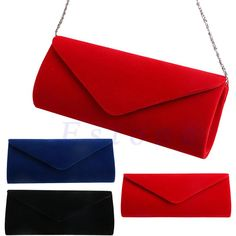 Wallmart.win New 1Pc Ladies Velvet Evening Clutch Handbag Chain Bag Formal Chain Shoulder Tote Purse: Vendor: Wallmart Type: Evening Bags…