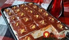 mazedonisches essen Tieto pudingov kocky so ahakou mu konkurova tm najlepm zkuskom: NESKUTON chu! - Recepty od babky Tieto pudingov kocky so ahakou mu konkurova Sweet Recipes, Cake Recipes, Dessert Recipes, Macedonian Food, Kolaci I Torte, Torte Cake, Fudge Cake, Croatian Recipes, Baking Cupcakes