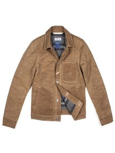 Rogue Territory The Rogue + Faribault Supply Jacket has a waxed canvas  exterior to repel the f561393be