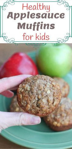 healthy food for kids ideas - even picky eaters will love these healthy muffins. Yep, fussy eaters approve too! These muffins are nutritional healthy snacks for toddlers, preschoolers, and make great after school snacks. Kids are little energy balls so fill them up with healthy snacks. These muffins freeze really well too which makes it a favorite of our kid foods. >>> >>> >>> We love this at Little Mashies headquarters littlemashies.com