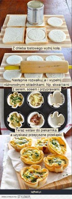 Broodhapje in vormpje Healthy Snacks, Healthy Recipes, Masterchef, Snacks Für Party, Food Design, Diy Food, Food Inspiration, Love Food, Food To Make