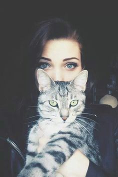 cat, girl, and eyes image                                                                                                                                                                                 More