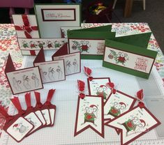 merry mice stampin up, house mouse, christmas cards, gift tags, workshop ideas,